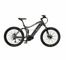 AM2609 high quality 36V250W Crank motor electric mountain bike full suspension mid motor hot sell