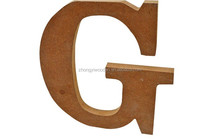 2015 year china suppliers ISO9001&FSC&SA8000 MDF English letters wooden christmas gifts crafts shape in wood crafts