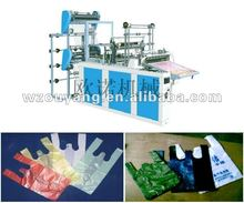 High Speed Four Lines Plastic T-shirt Bag making machine(With computer control)