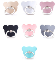 Clover Pattern 360 degree mobile phone stand ring phone holder for iphone universal mobile phone