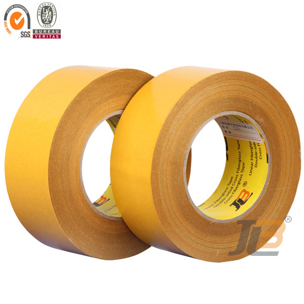 Free Sample Economic Quality Double Sided Filament Tape for carpet, foam, plastic, sealing strip of window and door