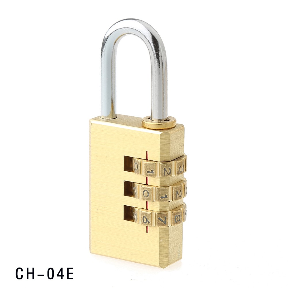 CH-04E professional supplier for 3 Code 30MM brass lock