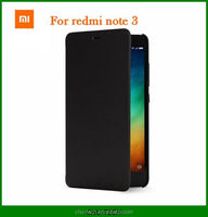 100% original xiaomi redmi note 3 note3 case smart wake-up flip leather cover Flip cover for xiaomi redmi note 3