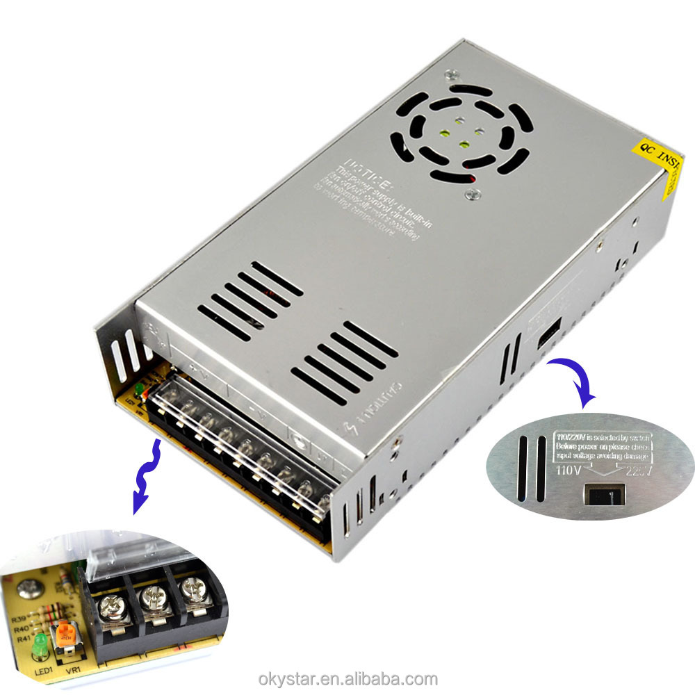 350W 12V 29A S-350-12 AC/DC 12v switch power supply 12v for 3D printer kit