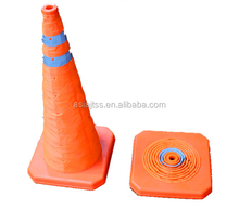 Rainproof Oxford fabric collapsible traffic cone roadway foldway traffic cones