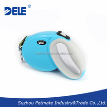 2015 new design pet products chew proof retractable dog leash