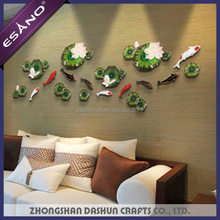 New style 3d fish house decorative wall pieces