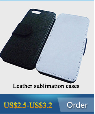 Hot 3D blank sublimation mobile phone case for iPhone 6/6s