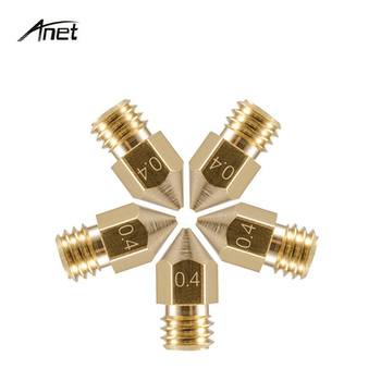 High quality 3d printer parts brass nozzle for reprpa prusa i3 Anet 3d printers