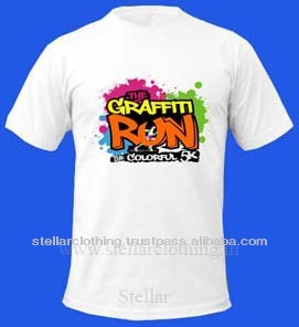 PROMOTIONAL T-SHIRTS WITH COLORFUL PRINT