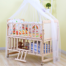 Pan Europe kids sleeping single bed wood baby sleigh cot bed