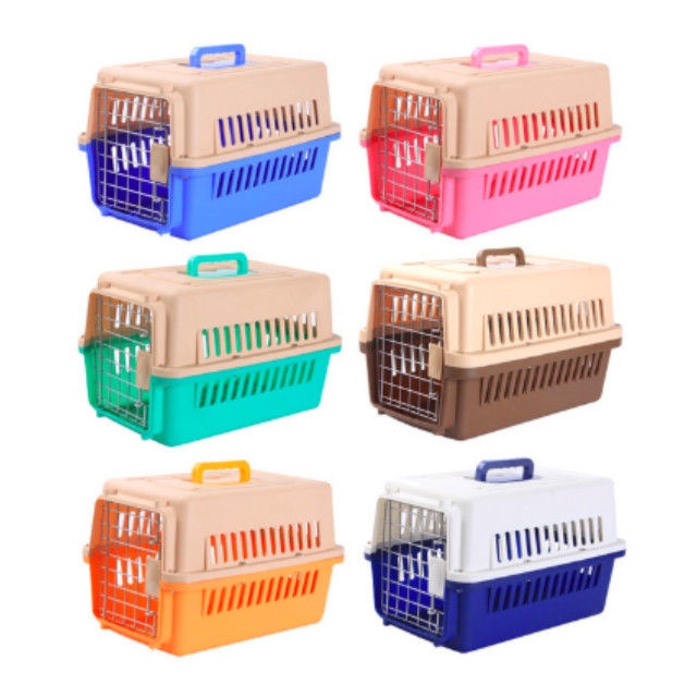 5pcs/lot USA Express Free Shipping Portable Airline Approved Pet Kennel Cats Travel Cage Dogs Carrier
