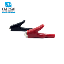 High Quality oem service100A large alligator test clip with boot
