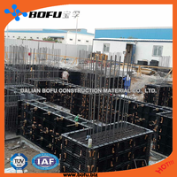 BOFU plastic formwork, construction formwork, easy operation so save time and labor and cost