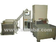 LMS2 Wood Biscuits measuring and sorting system