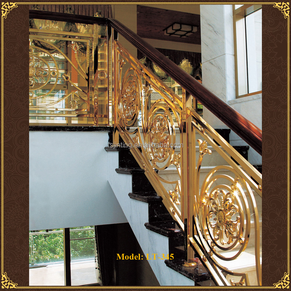 Luxury design handrails outdoor stairs