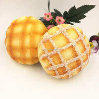 Artificial Pineapple coconut Bread/ Fake Food Model for Home Decorations