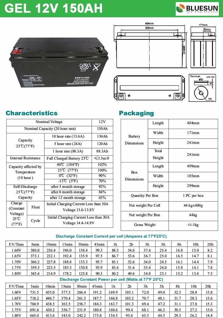 12v 150ah battery,gel battery 15v 150ah,12v 150ah deep cycle battery