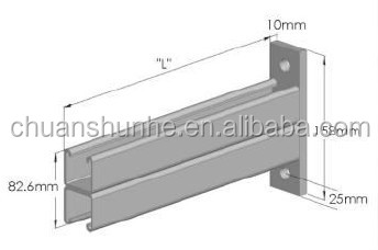 HDG cantilever arm bracket