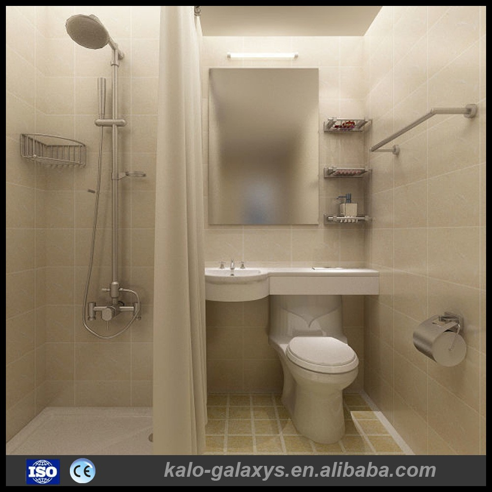 China Supplier Modern Shower All In One Prefab Ready Made Bathroom Units