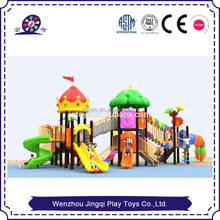 2017 thermoplastic restaurant outdoor playground equipment for sale