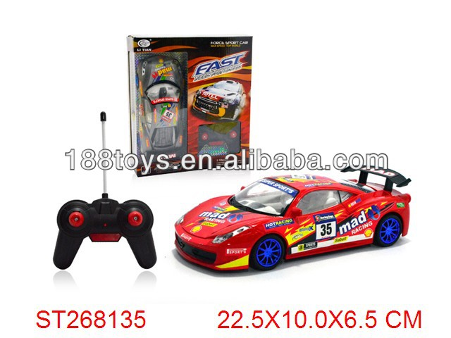 1:18 Scale RC 4W Race Toy Car with Light