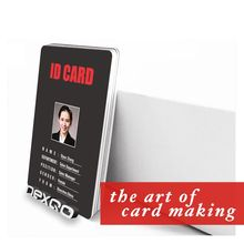 NEW Custom print PVC employee id card