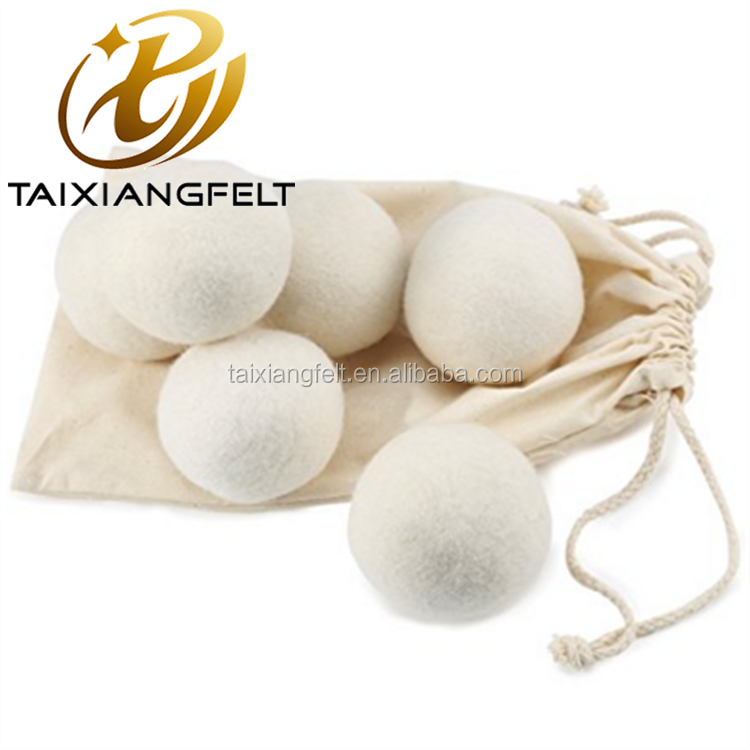 2017 amazon bestseller organic new zealand wool dryer balls 6pack xl