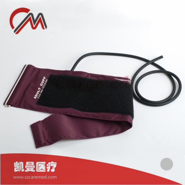 Reusable Non-Invasive Blood Pressure Cuff for Adult,Wine Red