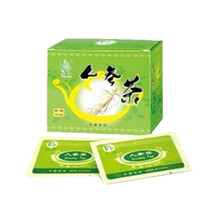 Energy herbal drink good for health ginseng tea