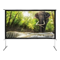 Quick fold marathon de paris projection screen