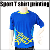 Wholesale Sports Jersey sublimation printing design Custom printed t shirt