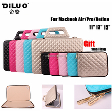 100% Handmade Fashion Beatiful Portable Ladies Leather Laptop Bag For 11'' 13'' Macbook