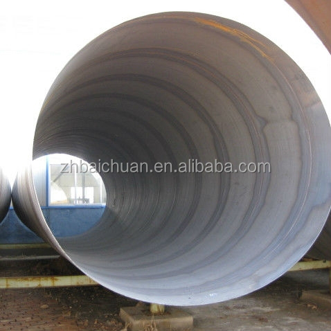 helical Q235 submerged arc welding saw steel pipe /erw spiral wound steel pipe
