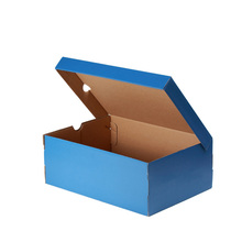 Custom Size Recycle Strong Plain Cardboard Shoe Boxes Manufacture