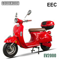 2000W classic EEC electric scooter with removable lithium battery