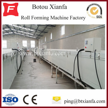 Colourful Stone Chip Coated Roof Tile Production Line