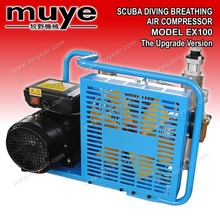 Scuba diving breathing widel applical marine fishing and shipping Industrial air compressor EX 100 B pump