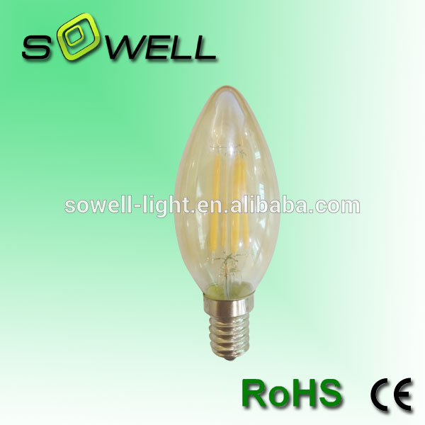 filament bulbs tail 4W C35 <strong>LED</strong>