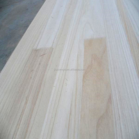 Custom paulownia solid wood finger joint boards