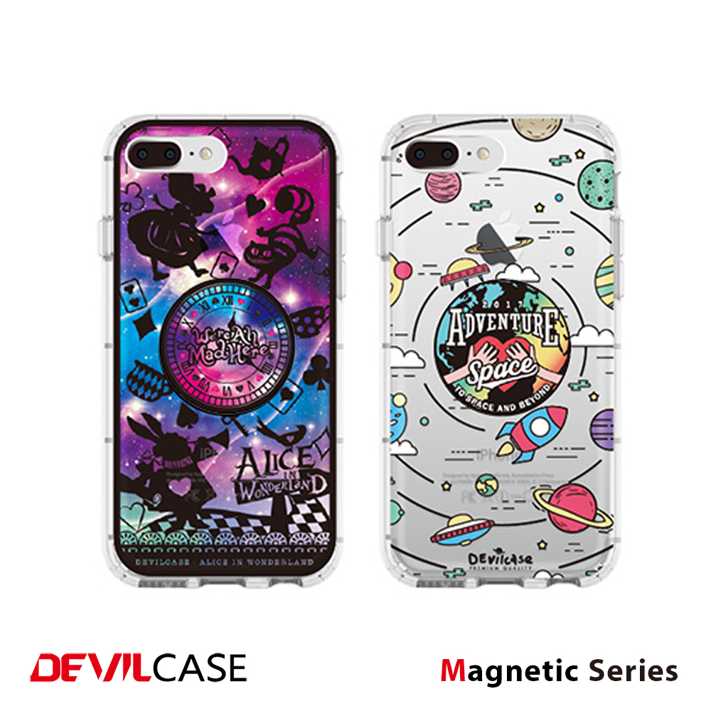 [DEVILCASE] Fashionable Magnetic Anti-impact Cell Phone Painting Case for iPhone 6 6s 6+ 6s+ 7 7+