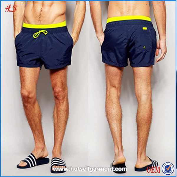 summer beach wholesale polyester mens blank wholesale mens swimwear