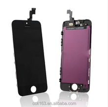 Stocks!!!Mobile phone LCD for iphone 5,Factory Price Original LCD Display Screen Digitizer Assembly For iphone 5 LCD