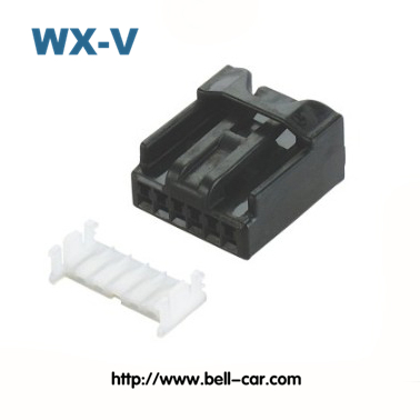 6098-2303 6 Pins Male Automotive Electrical PBT Connector