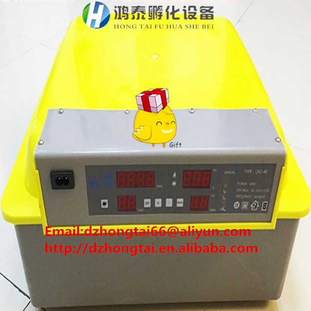 high hatching rate mini incubator/automatic egg incubator farm machinery