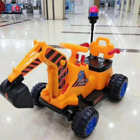 2019 Popular multifunctional factory cheap plastic excavators baby car toy kids swing car ride+on+car