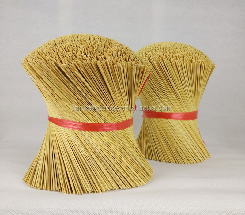 2016 high grade round bamboo sticks for making incense