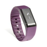 Vidonn X6 Smart Bluetooth Wristband with Message Display + Sports Tracking + Sleep Monitoring + Silent Alarm Clock Watch