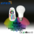 24 Colors+4 Preset Modes & 810lm Dimmable White Light battery rechargeable light led rgb