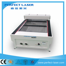 3.0 mm carbon steel/20mm plywood co2 laser cutting machine from Perfect laser